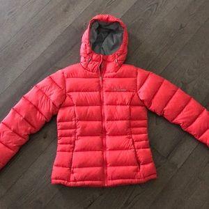 Columbia puffer jacket